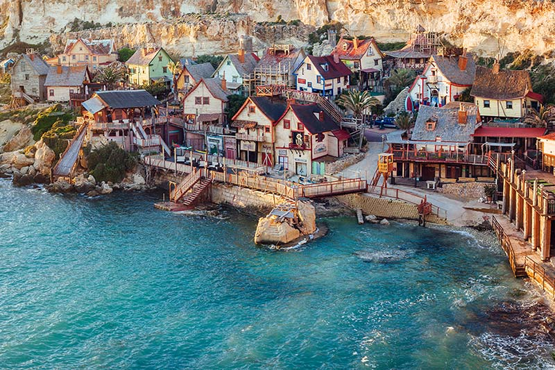 Malta Attractions - Popeye Village